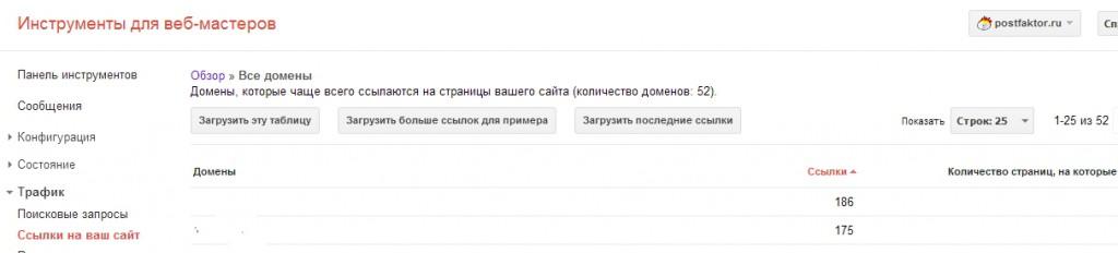 Google_веб-мастер_проверка_ссылок