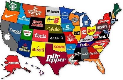 Штаты-бренды